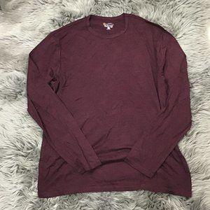 Cloudveil   Men's Long Sleeve Shirt   Burgundy